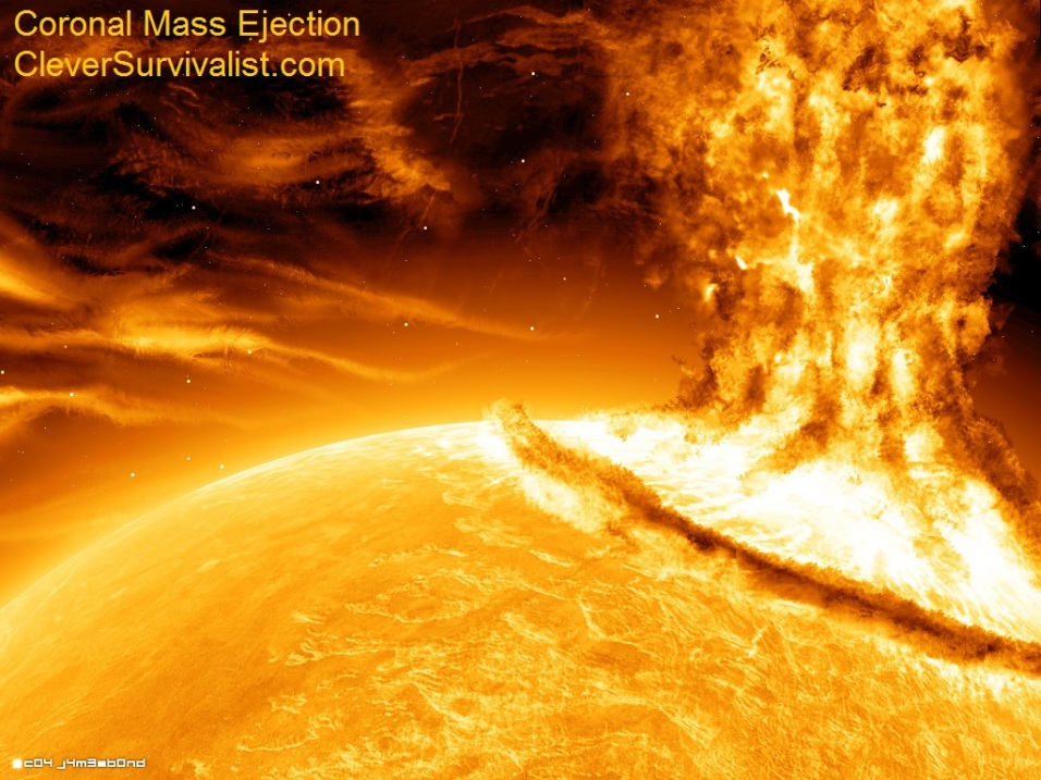 Intense Solar Activity – Profound Effects Upon Earth, People, All Living Things  Cme