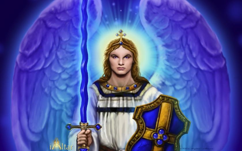 blue AA Michael