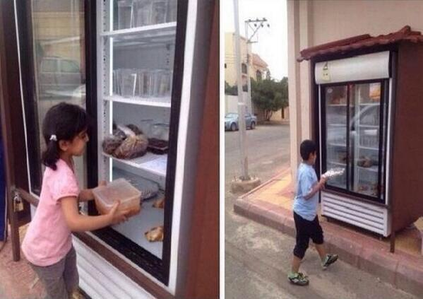 fridge charity