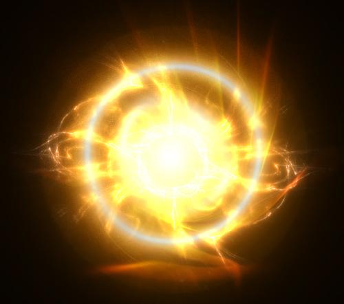 Gold Energy Ball