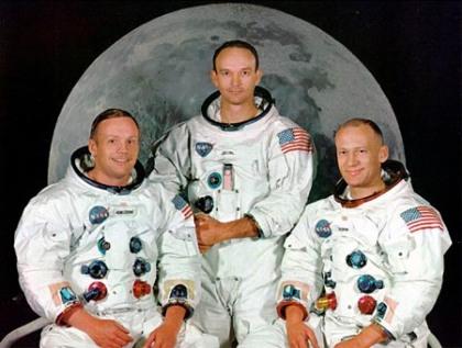 File photo of Apollo 11 astronauts