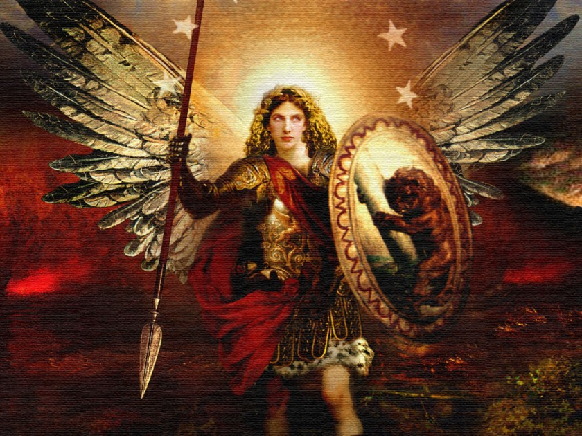 Archangel Michael - Red