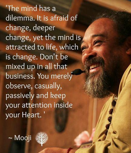 mooji The Mind