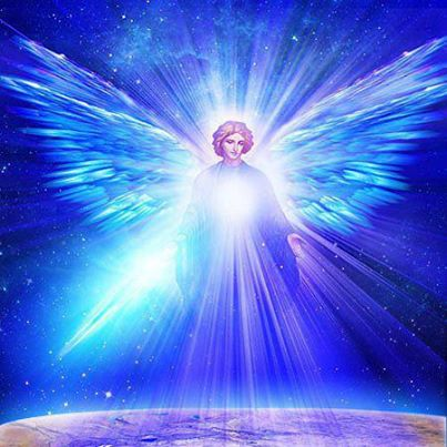 Related image angel in indigo and white