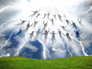 The Rapture of People out of the world