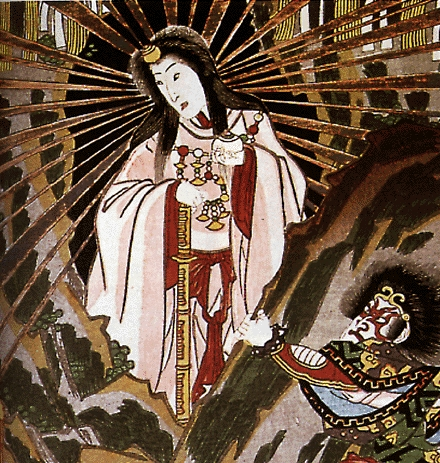 Amaterasu, Shinto Deity of the Sun