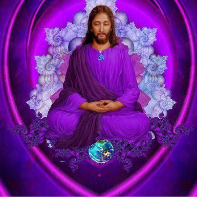 Jesus - Violet