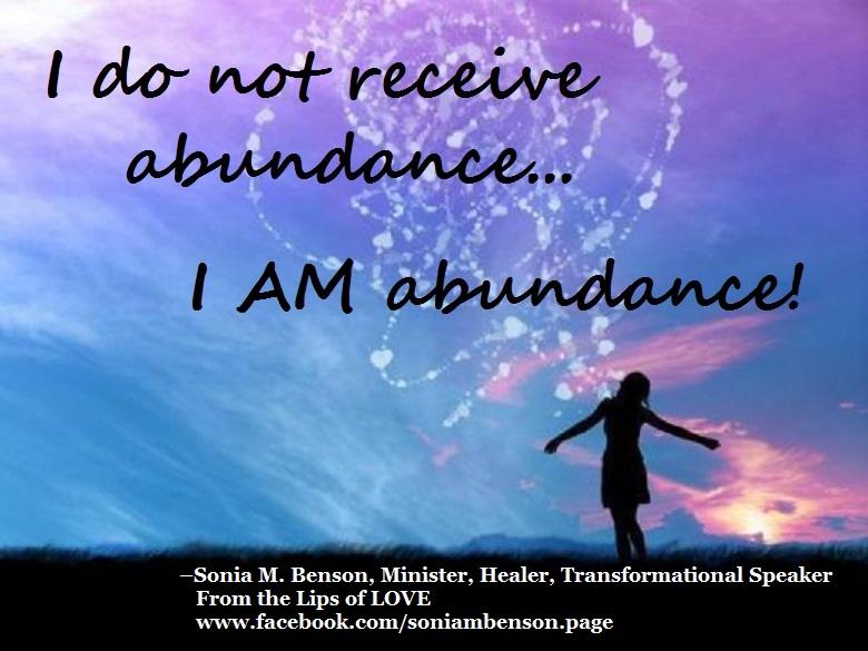Abundance - Sonya Benson