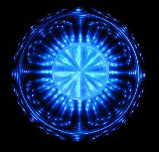 Blue - Sacred Geometry