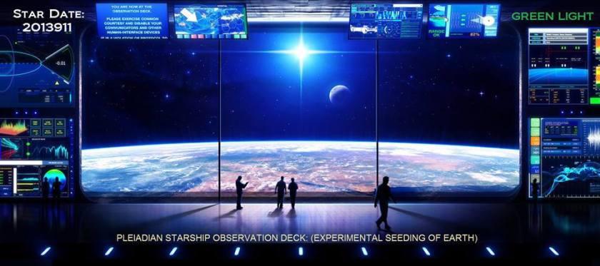 Pleiadian Observation Deck