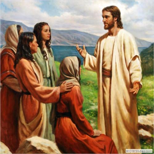 Jesus teaching