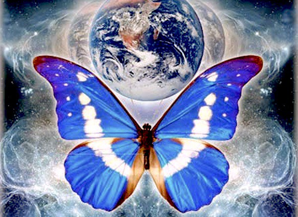 Earht Butterfly