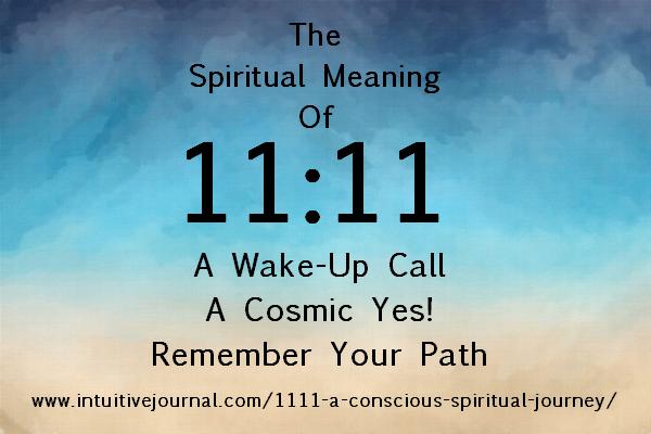 Wake up - 11 11